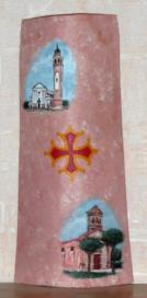 Eglise de MERVILLE (31) Eglise de BERGANTINO (Italie)